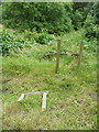 SE0322 : Broken stile on Sowerby bridge FP142, Link D by Humphrey Bolton