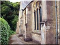 TF0919 : Church buttresses at Bourne, Lincolnshire by Rex Needle