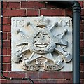 SK3135 : Mickleover: date stone on North Avenue by John Sutton
