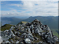 NH0513 : Summit of Sgùrr an Fhuarail by John Allan