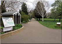 SP3265 : Jephson Gardens path,  Royal Leamington Spa by Jaggery