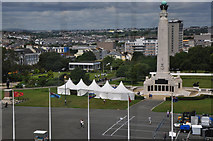 SX4753 : Plymouth : The Hoe by Lewis Clarke