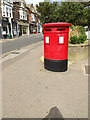 TL1314 : Harpenden Post Office Twin Postbox by Adrian Cable
