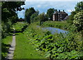 SK4128 : Weston Grange next to the Trent & Mersey Canal by Mat Fascione