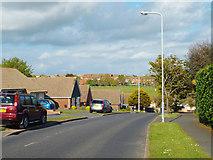 TQ4800 : Upper Belgrave Road drops down to meet Lexden Road, Seaford by Robin Stott