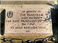 TF8109 : Swaffham and District Far East Prisoners of War Memorial by David Dixon