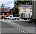 SN1219 : Give Way sign in Clunderwen by Jaggery