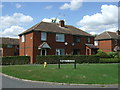 TL1234 : Houses on Upton End Road by JThomas