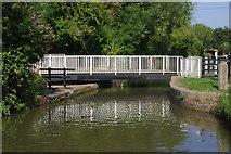 SP7089 : Foxton Swing Bridge by Stephen McKay