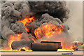 TR3367 : Fire Ground demonstration by Richard Croft