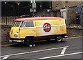 TQ7468 : Vintage Volkswagen van, High Street, Rochester by Chris Whippet