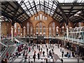 TQ3381 : Liverpool Street Station: interior view by Julian Osley