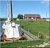 TG4319 : Bungalow by the River Thurne by Evelyn Simak