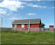 TG4319 : Modern bungalow beside the River Thurne by Evelyn Simak