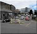 SN4119 : Castle Hill, Carmarthen by Jaggery