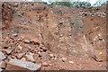 NY5239 : Quarry face by Stephen Darlington