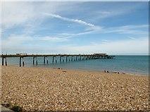 TR3752 : Deal  Promenade  Pier by Martin Dawes