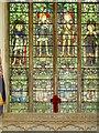 TF8208 : War Memorial Window, Swaffham Parish Church by David Dixon