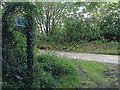 SS6239 : Signpost to Button Bridge by Hugh Craddock