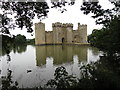 TQ7825 : Bodiam  Castle  showing  main  entrance by Martin Dawes