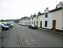 SC4384 : Laxey, Dumbell's Row by Mike Faherty