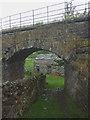 SD8790 : Disused railway bridge, footpath north of Hawes by Karl and Ali