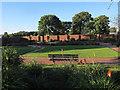SE2435 : Bramley Park; flower garden by Stephen Craven