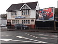 ST3089 : JCDecaux hoarding alongside Crindau Constitutional Club, Newport by Jaggery