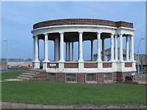 NZ3766 : Bandstand at The Bents by Mike Quinn