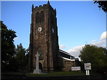 SK4346 : Church of St Lawrence, Heanor by Richard Vince