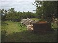 SD4487 : Charcoal kiln, Wakebarrow by Karl and Ali
