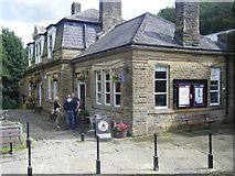 SD9926 : Hebden Bridge railway station by Colin Pyle