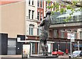 J3374 : Rinty Monaghan statue, Belfast - August 2015(3) by Albert Bridge