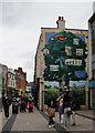 TQ4069 : Charles Darwin Mural, Bromley by Peter Trimming