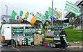 NS6163 : Glasgow Celtic souvenir stall by Thomas Nugent