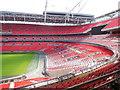 TQ1985 : West Stand - Wembley Stadium by Paul Gillett