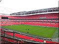 TQ1985 : Groundsmen at Wembley Stadium by Paul Gillett