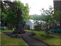 SK2375 : War Memorial, Stoney Middleton by Basher Eyre