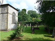 SK2375 : St Martin, Stoney Middleton: churchyard (D) by Basher Eyre