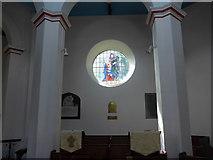 SK2375 : Inside St Martin, Stoney Middleton (iii) by Basher Eyre