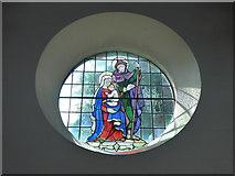 SK2375 : Inside St Martin, Stoney Middleton (xviii) by Basher Eyre