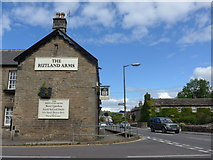 SK2572 : The Rutland Arms on the A623 at Baslow by Basher Eyre