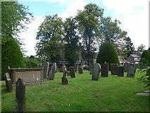SK2572 : St Anne, Baslow: churchyard (ii) by Basher Eyre