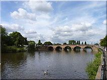 SO8454 : Worcester Bridge by Jeff Gogarty