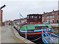 TA0439 : Crane Hill Wharf, Beckside, Beverley, Yorkshire by Bernard Sharp