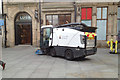 SJ4066 : Street sweeping vehicle, central Chester by Robin Stott