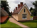 TL6130 : Almshouses, Thaxted by Julian Osley