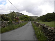 NY1700 : Road to Hardknott Pass east of the Brook House Inn by Richard Vince