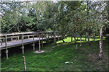 TQ3643 : Tandridge : British Wildlife Centre by Lewis Clarke