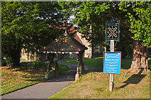 TQ4251 : Limpsfield Chart : St Andrew's Church by Lewis Clarke